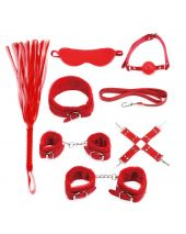 BDSM Starters Kit Red Serie
