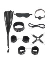 BDSM Starters Kit Black Serie