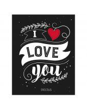 Boek: I Love You