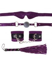 Fetish Suede Fantasy Kit Purple