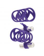 Toy Joy Double Tickler Bunny Sleeve Set Paars