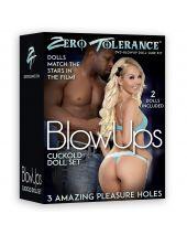 Zero Tolerance Interracial Cockold Doll Set Opblaaspop