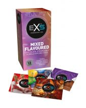 EXS Mixed Flavoured Condooms 12 Stuks