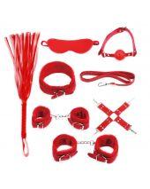 BDSM Starters Kit Red Serie